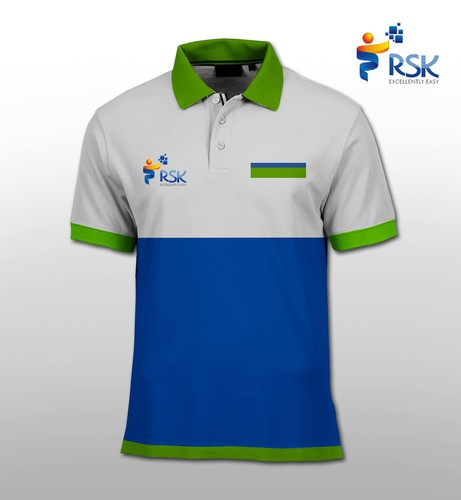 Sribu cleaning and maintenance office uniform clothing desi for Get company shirts made