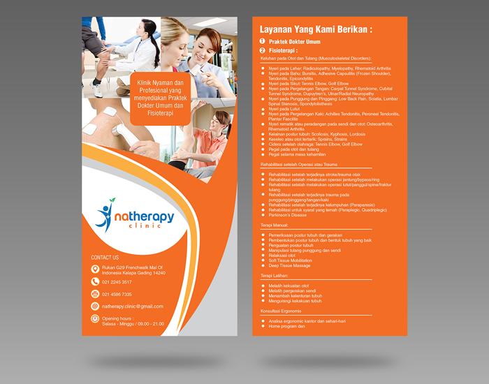 Brosur Desain Untuk Klinik Fisi