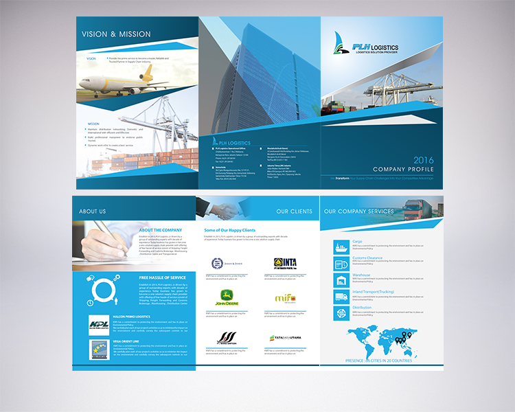 sribu  company profile design