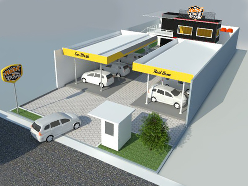 Car wash building plans images for Exterior car design
