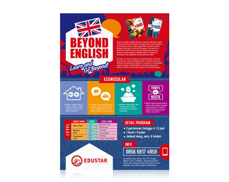 Sribu Desain Flyer Brosur Flyer Kursus Bahasa Inggris Unt