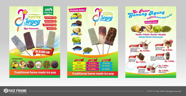 Sribu Flyer Brochure Design Design Brosur Es Goyang Jegeg