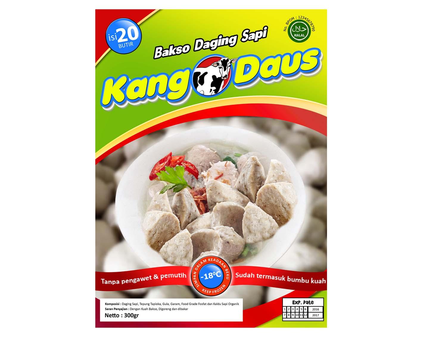 Sribu Desain Label Desain Label Bakso Daging Sapi Kang