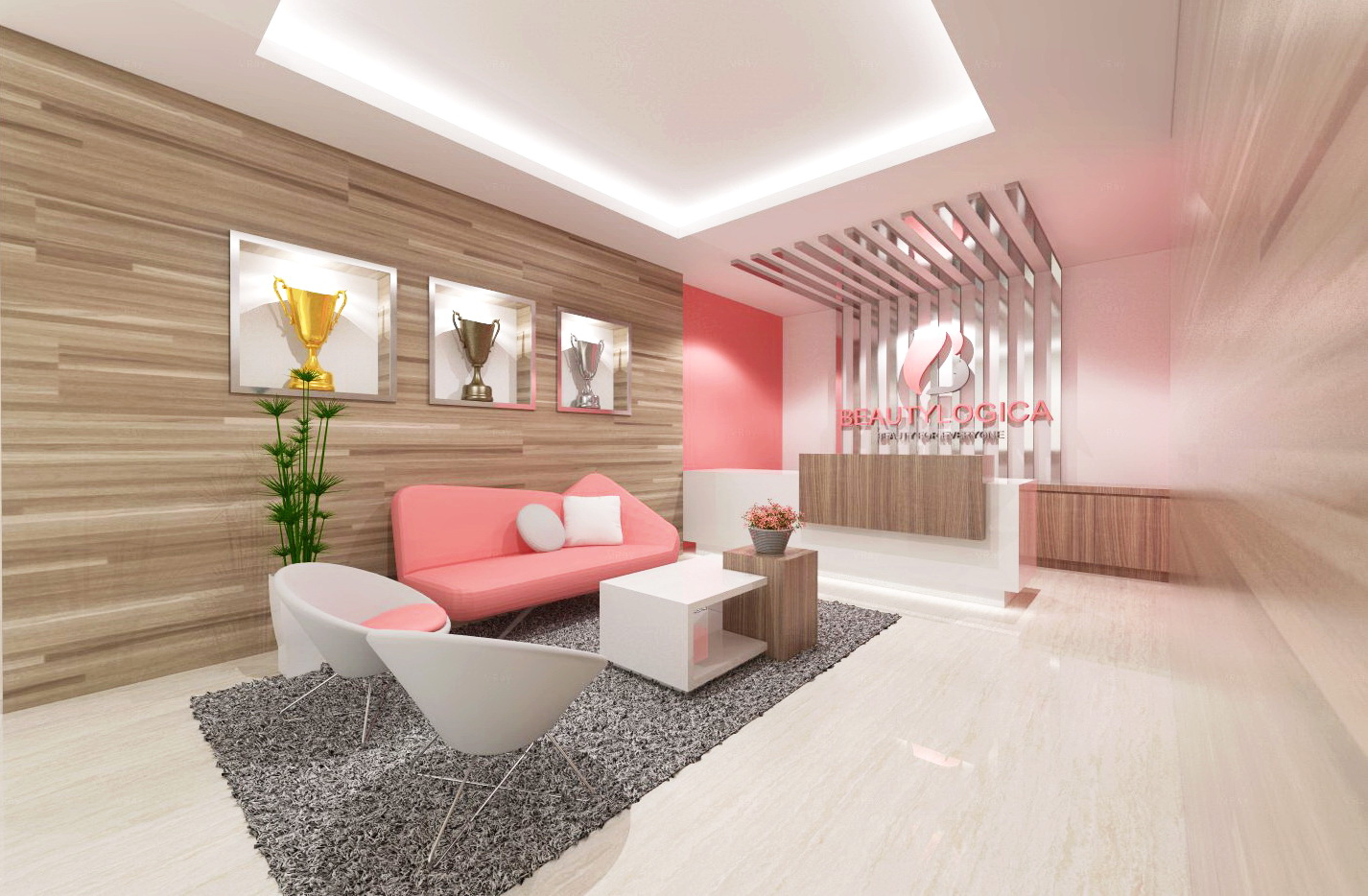 Jasa Interior Klinik Kecantikan