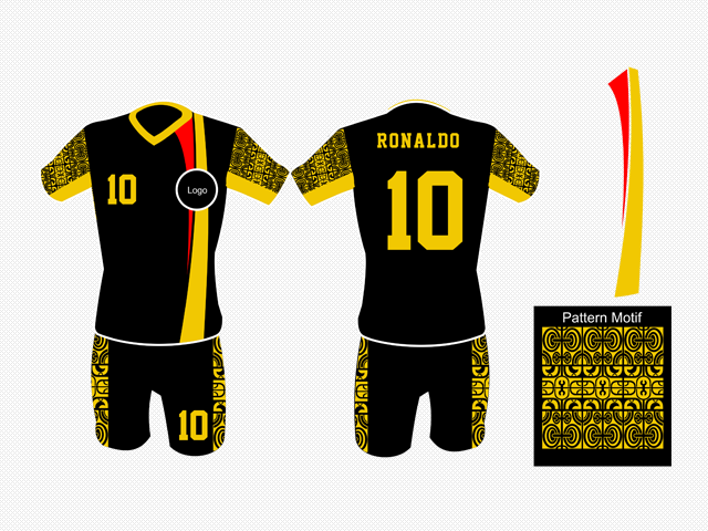 Custom Futsal Jersey Design