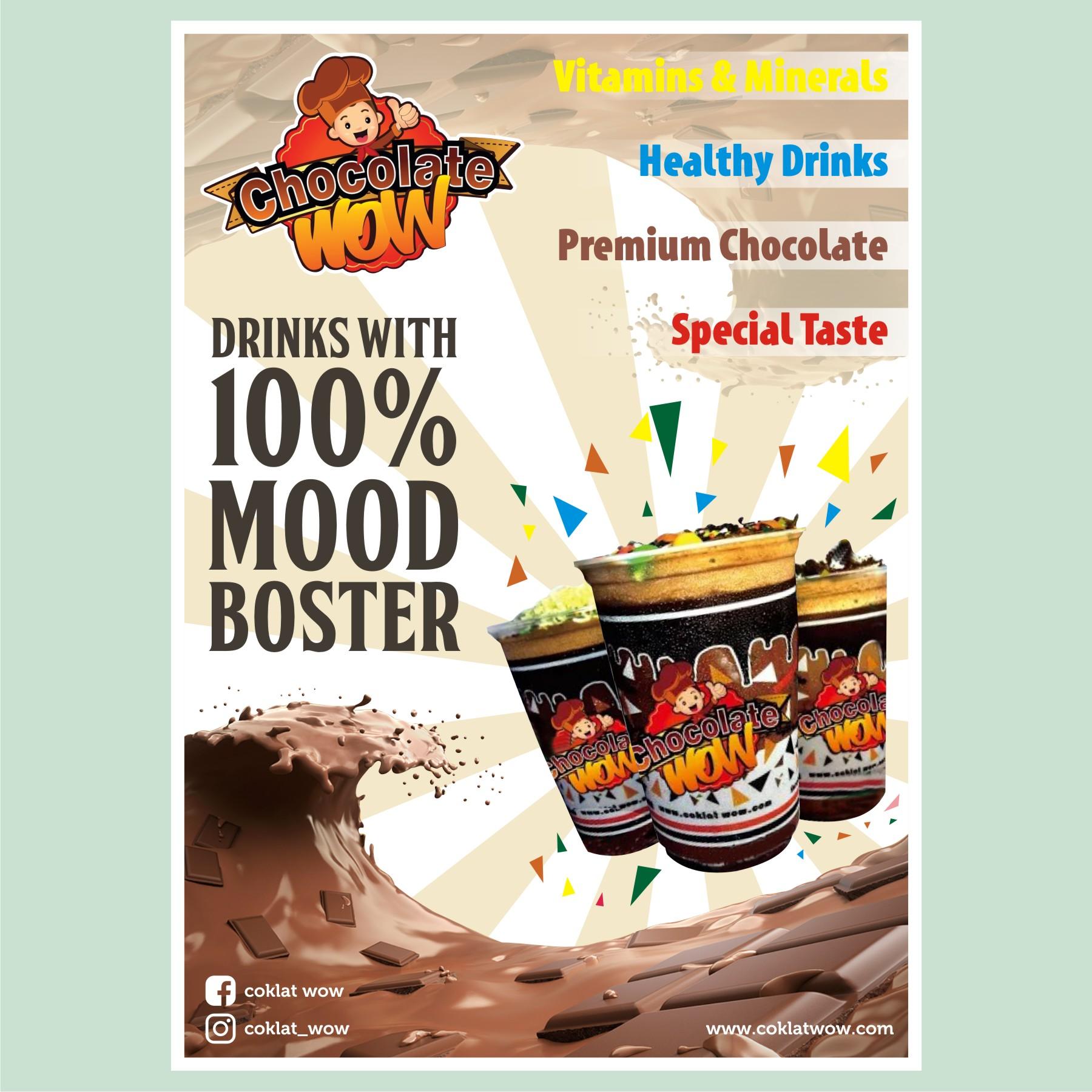 Contoh Poster Promosi Produk Makanan - Contoh Poster Ku