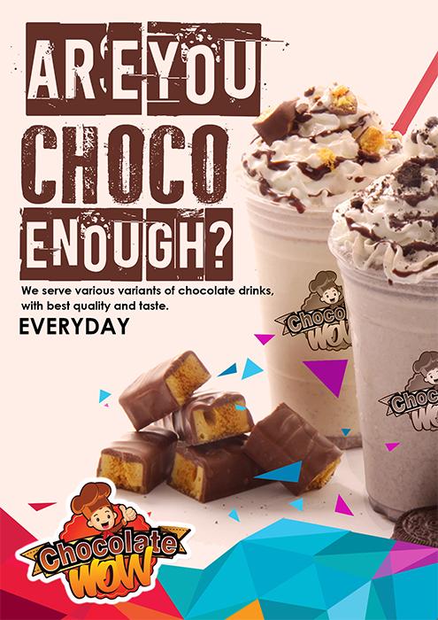 Sribu Poster Design Design Poster Banner Minuman Chocola