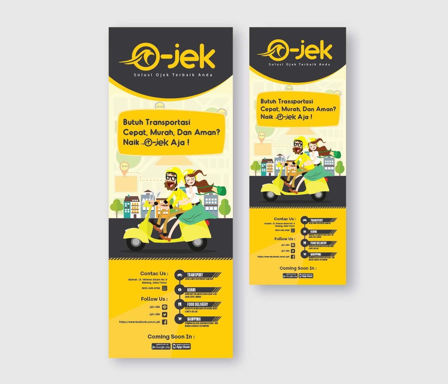 Sribu: Desain Banner - Desain Banner Untuk Jasa Transportasi