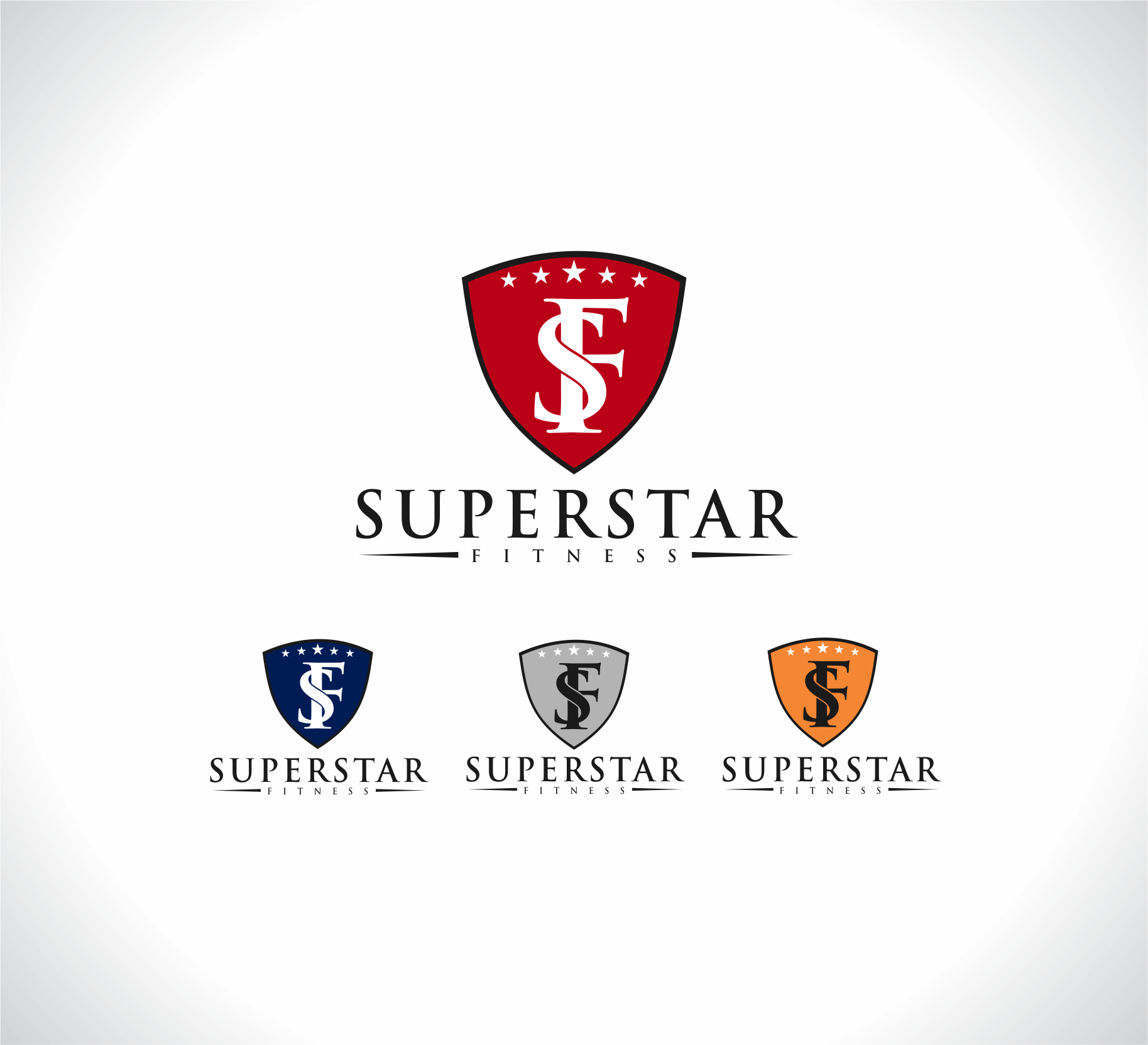 Logo Superstar Fitness