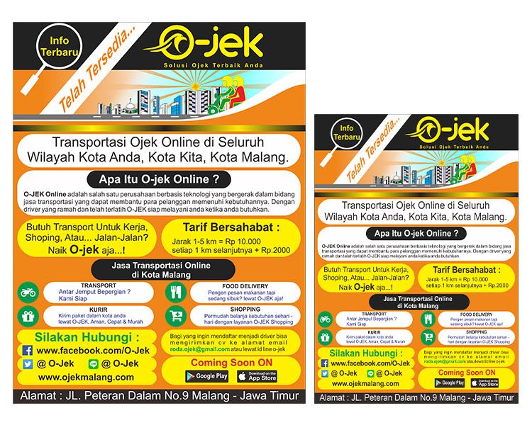 Sribu Desain Flyer Brosur Desain Brosur Untuk Jasa Transp