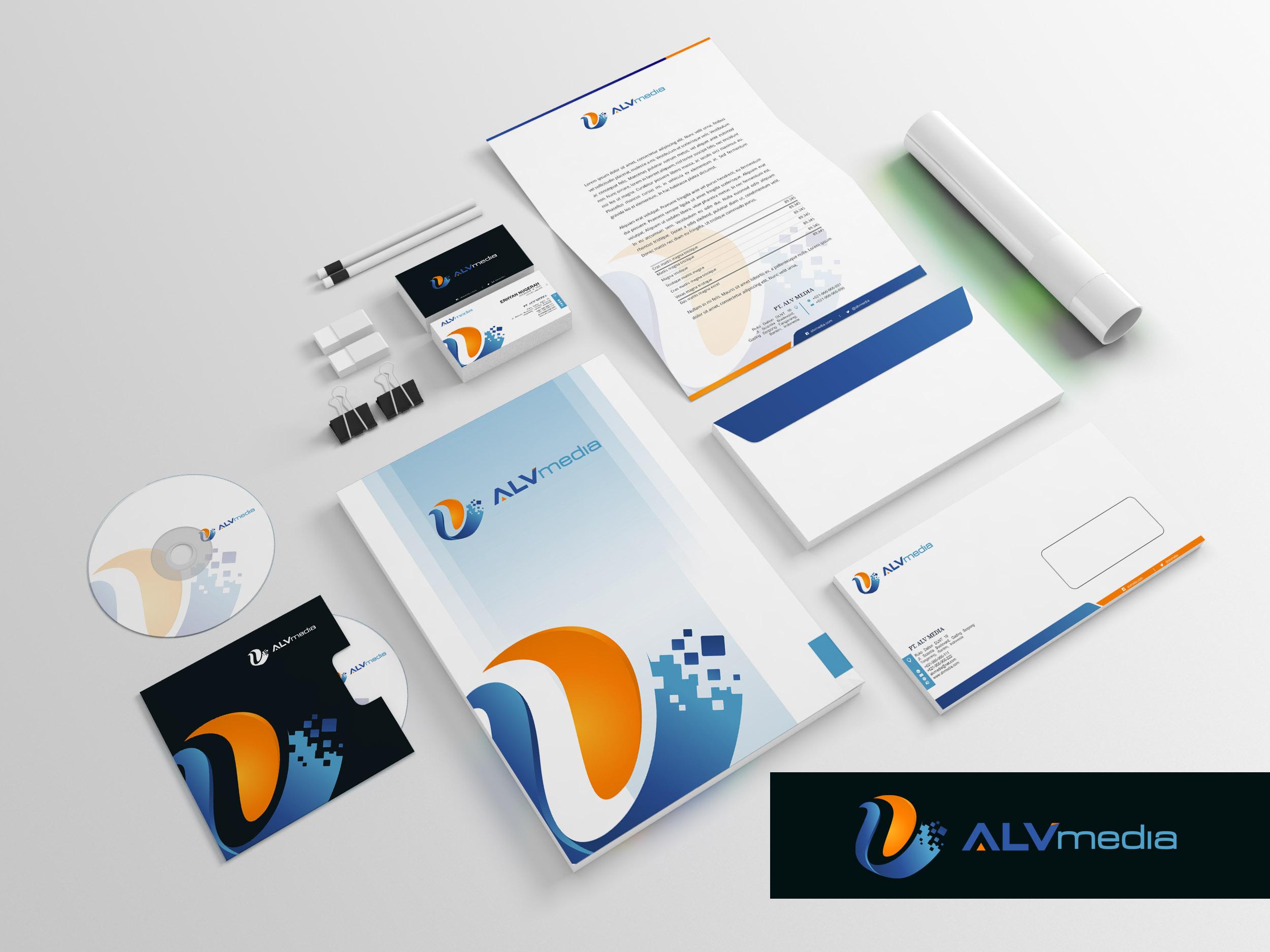 Design Logo & Stationery untuk Perusahaan Internet Marketing