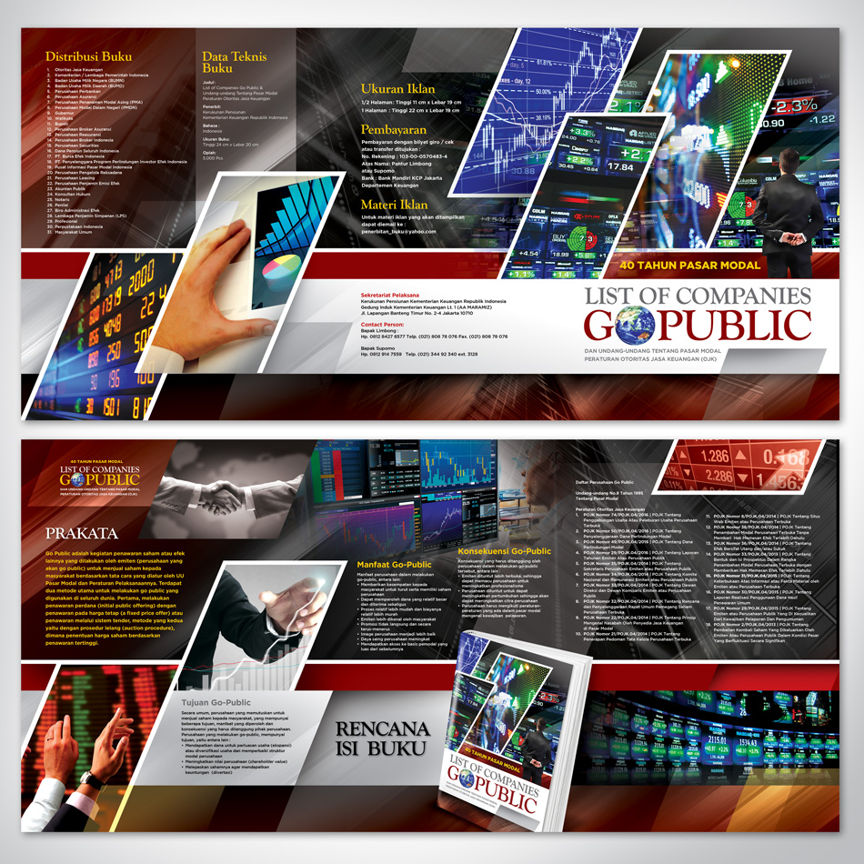 Brochure Design Services for the Capital Market