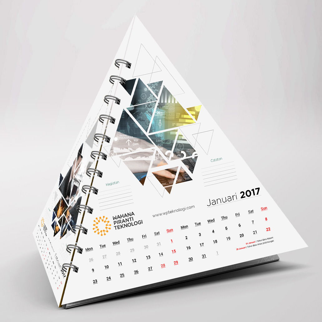 calendar designs example for 2019