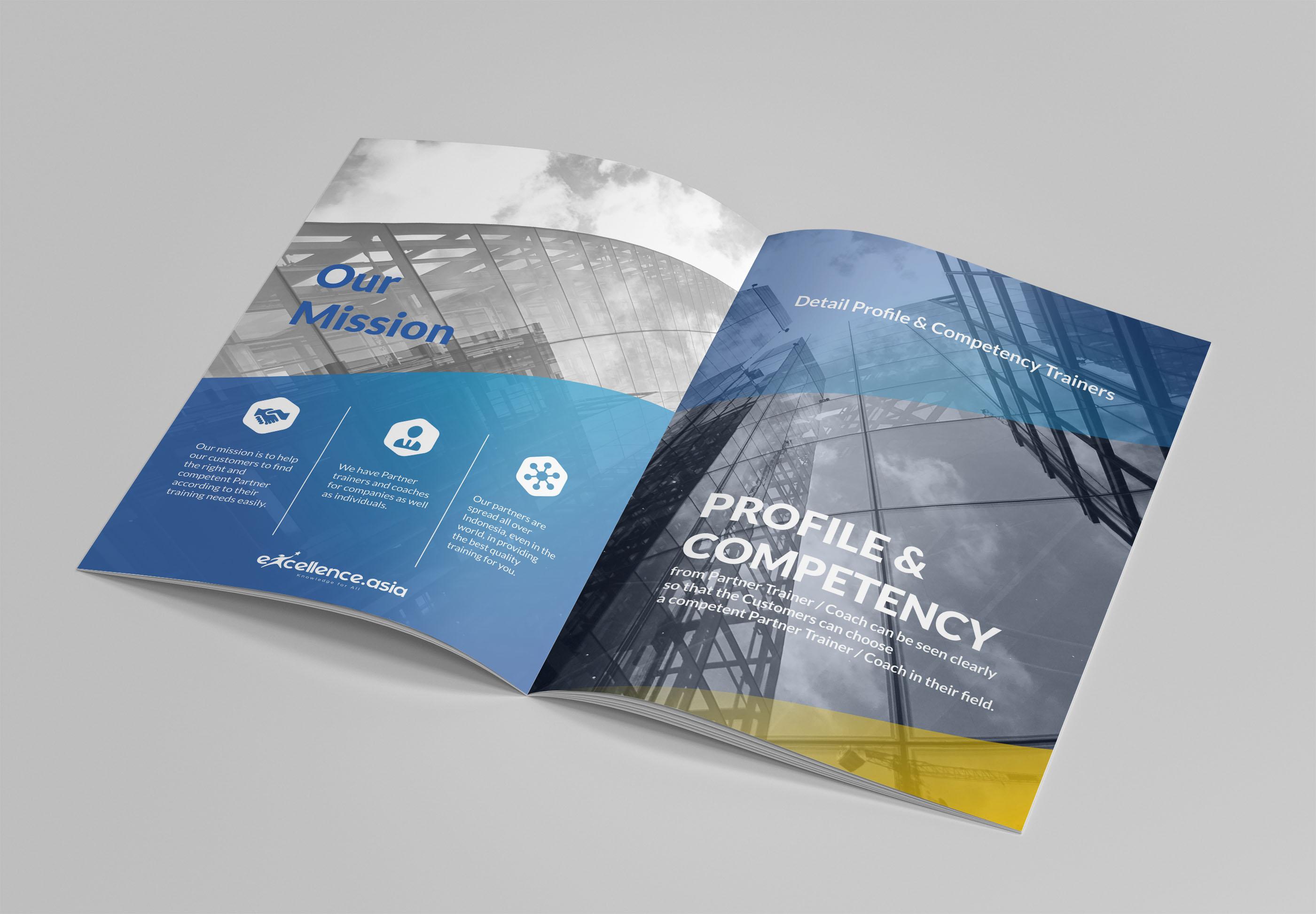 Desain Company Profile Untuk Marketplace