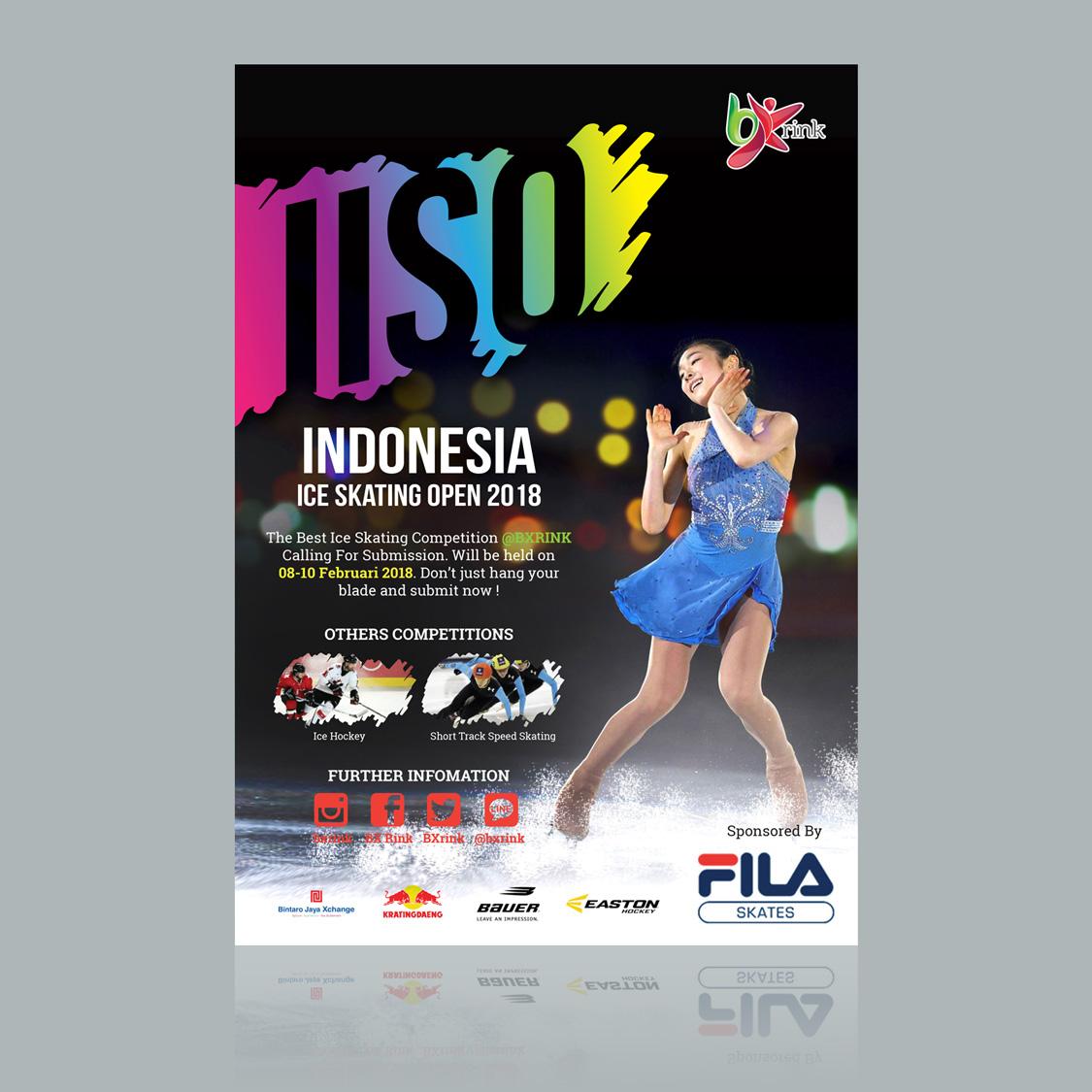 Sribu Desain Poster Desain Poster Untuk Kompetisi Ice Ska