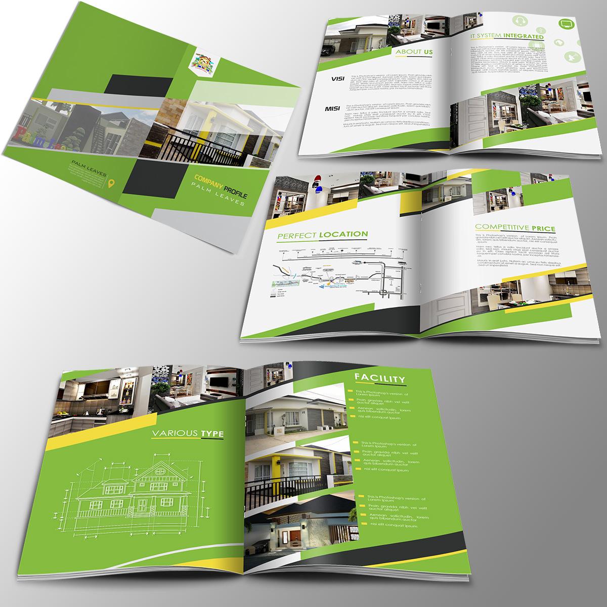 Desain Company Profile Untuk Perusahaan Property
