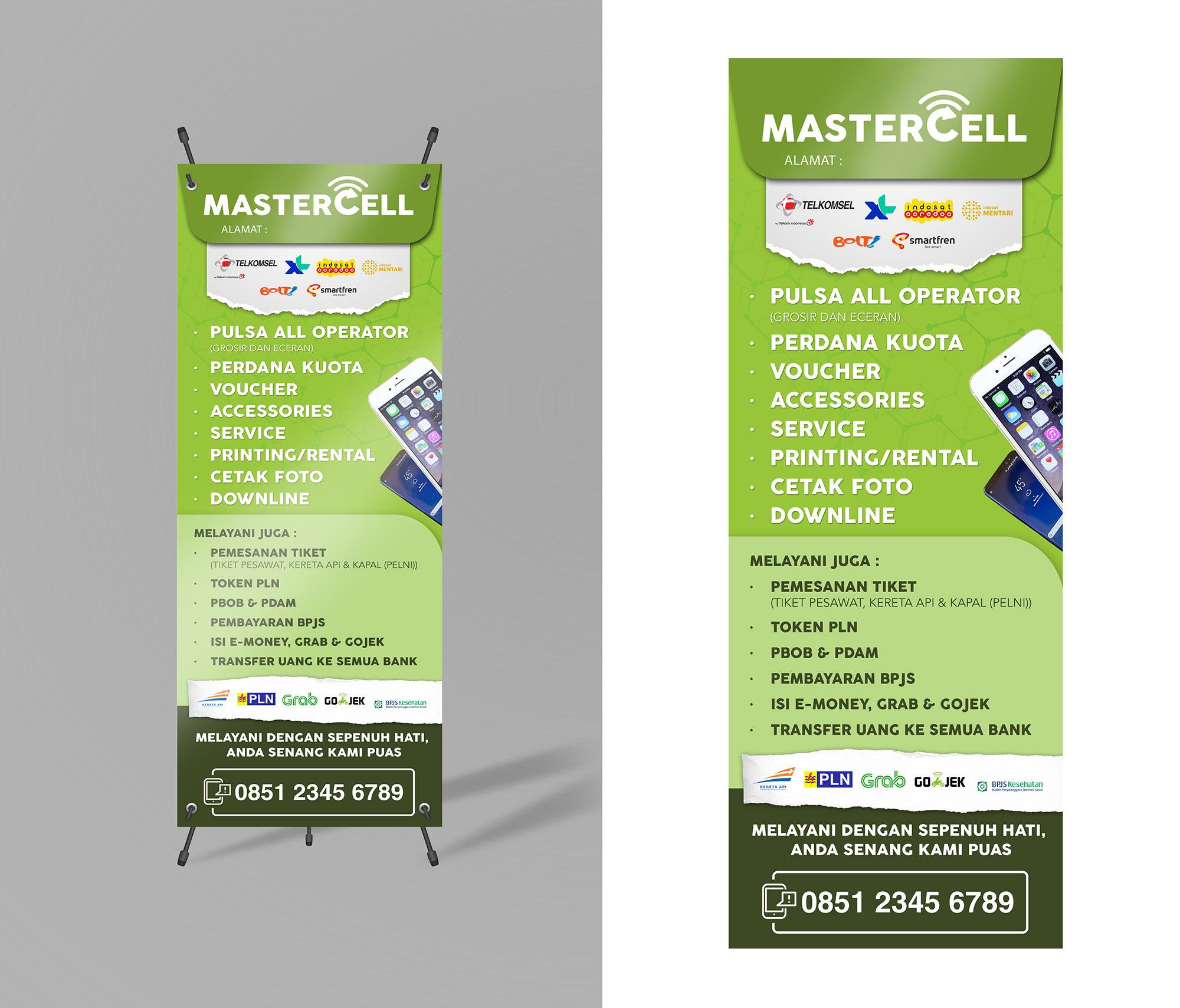 Sribu: Banner Design - Desain Spanduk/Banner Untuk Master Ce
