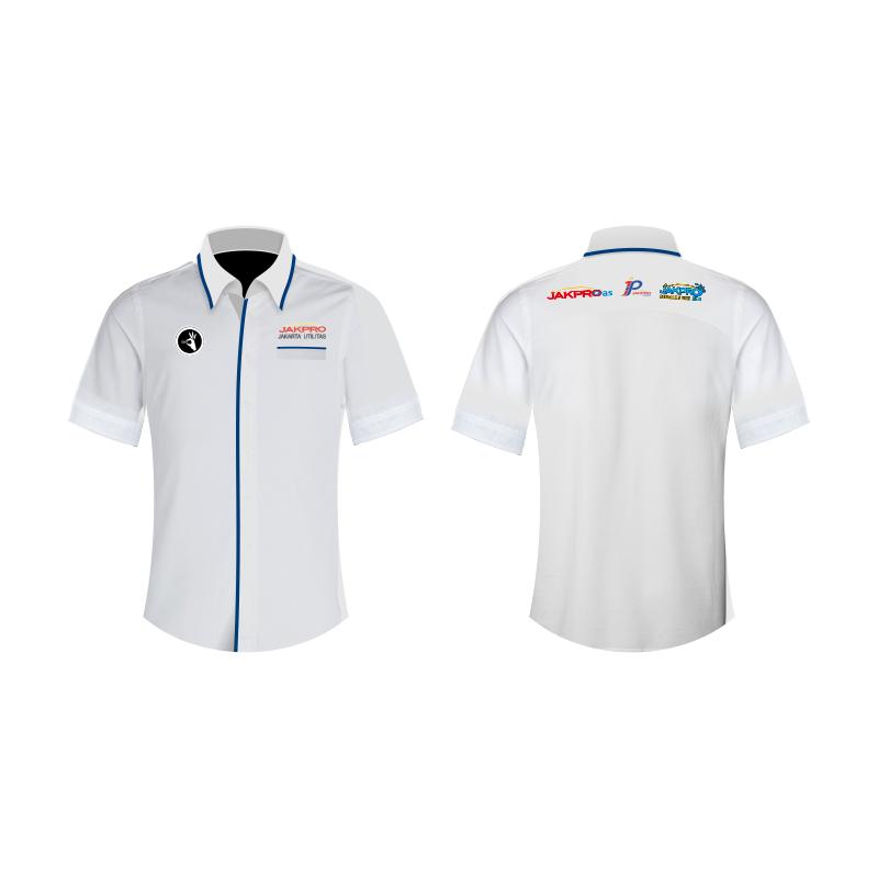 desain baju seragam kantor jakpro Utilitas