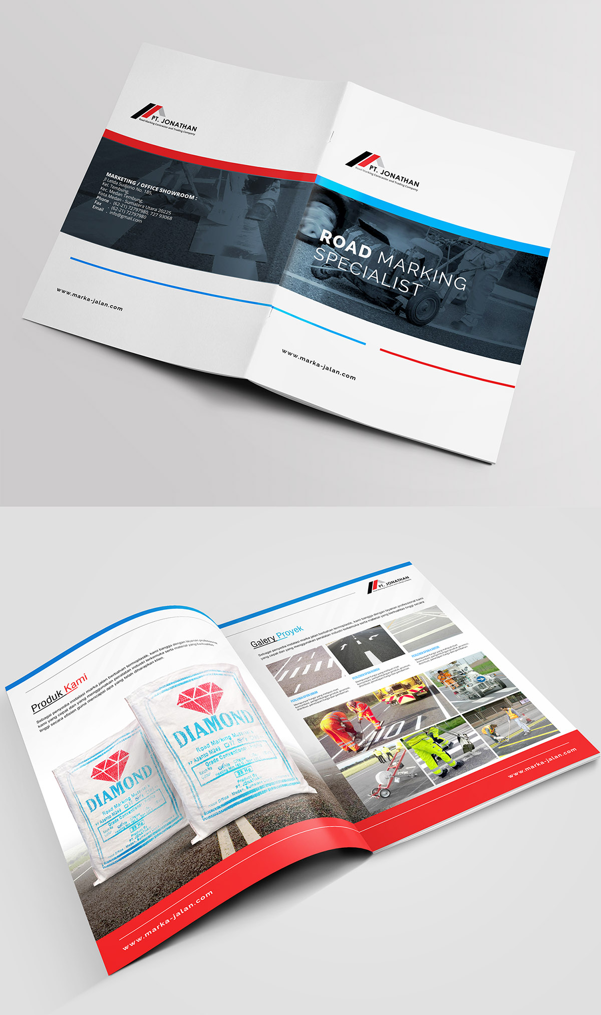 Brochure Design Services for Construction Companies