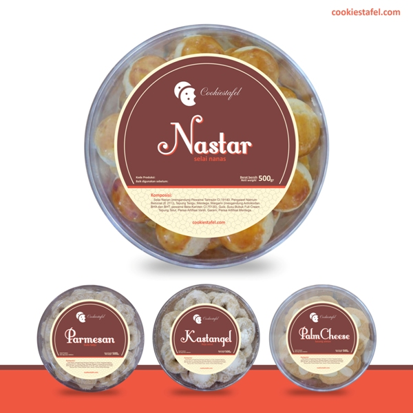 Contoh Label Kue Lebaran