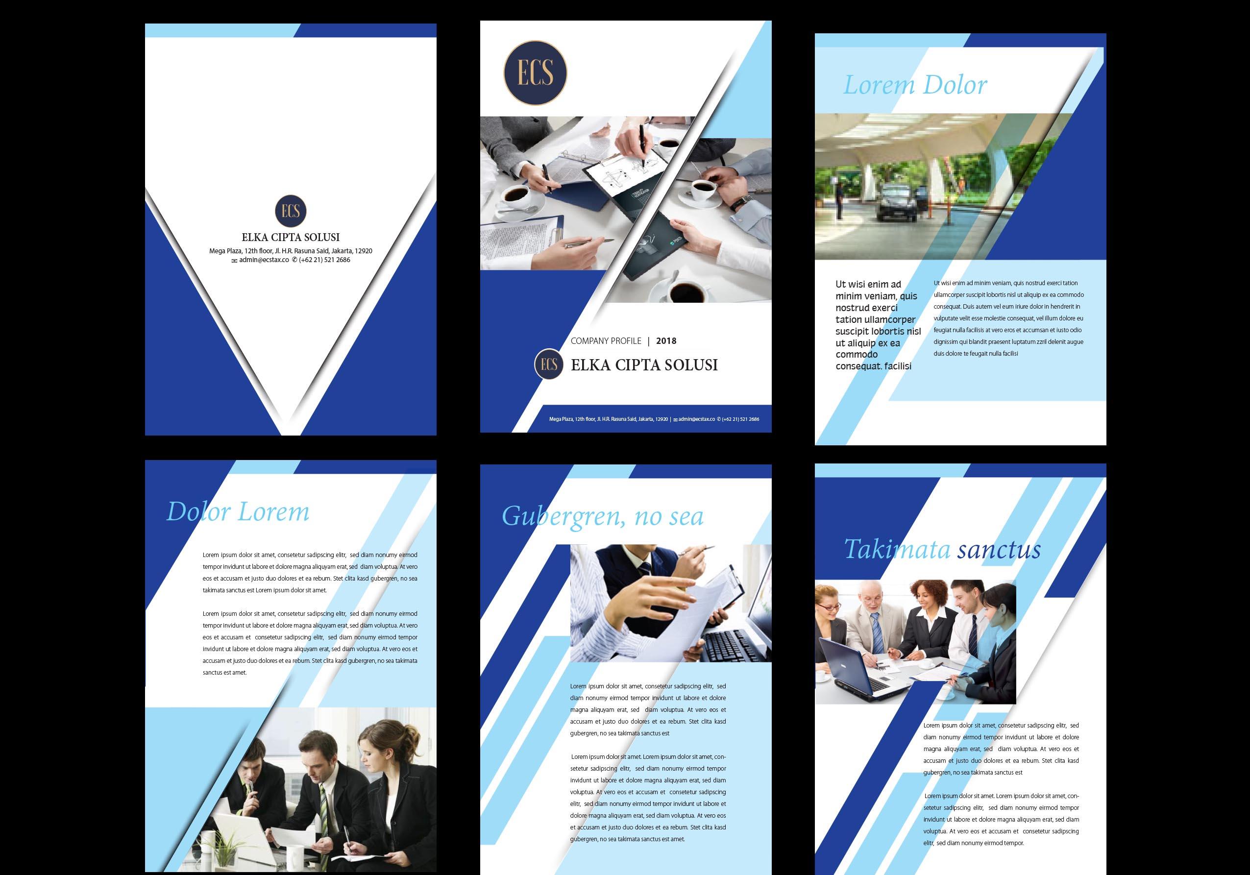 Galeri design company profile for consulting company for Design consultancy company profile