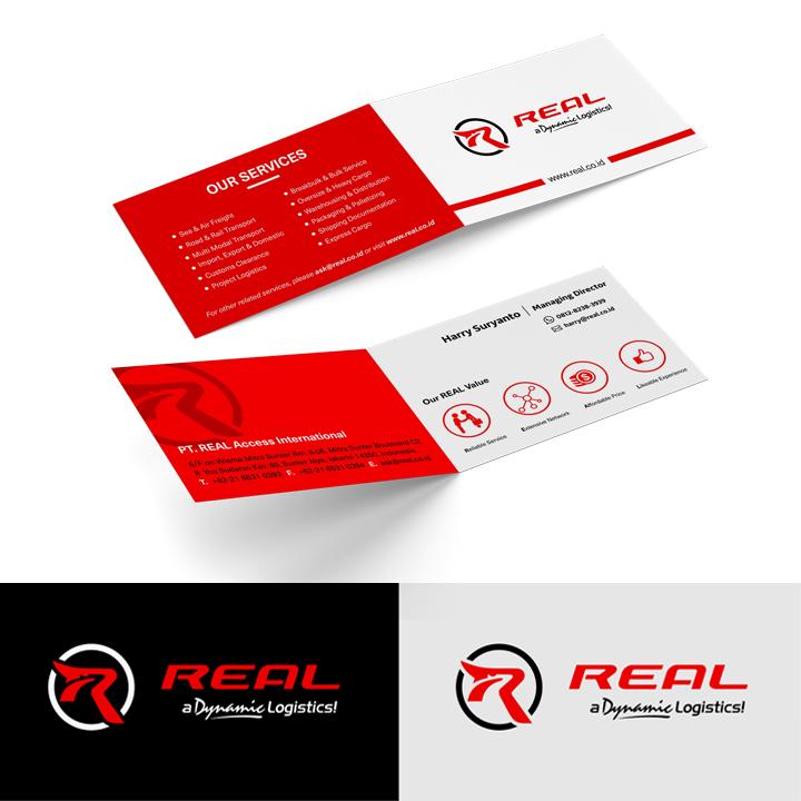 Desain Logo dan Stationery untuk Perusahaan Logistics/Freight Forwarding