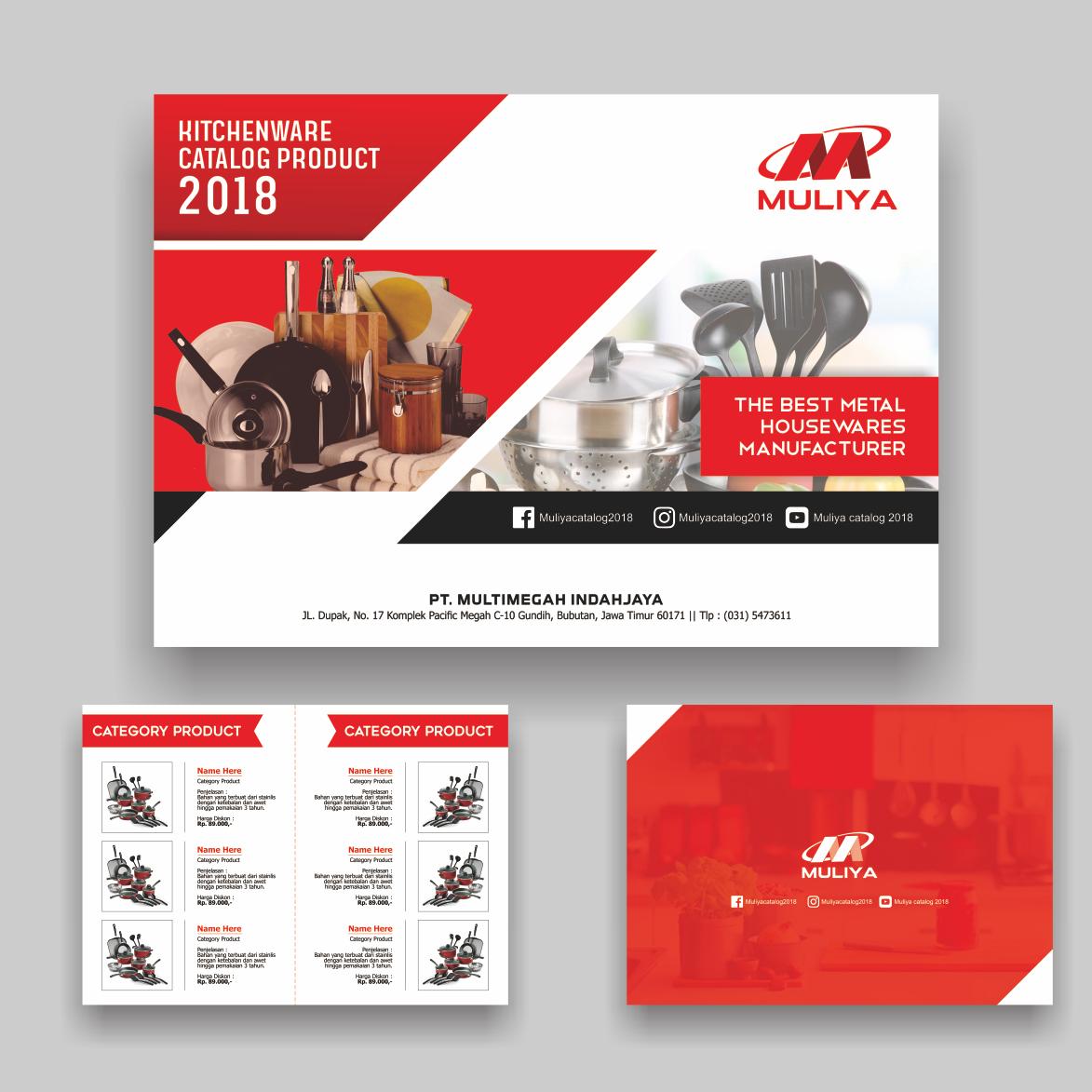 Sribu flyer brochure design desain template katalog produ for Design katalog