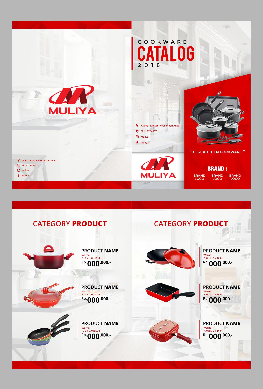 gallery desain template katalog produk