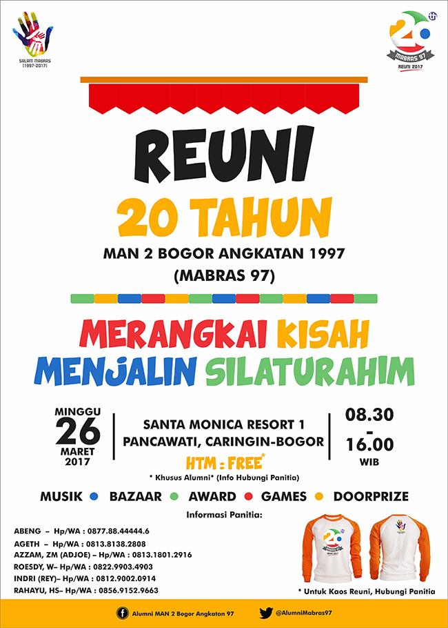 Sribu Desain Poster Desain Poster Reuni Mabras 97