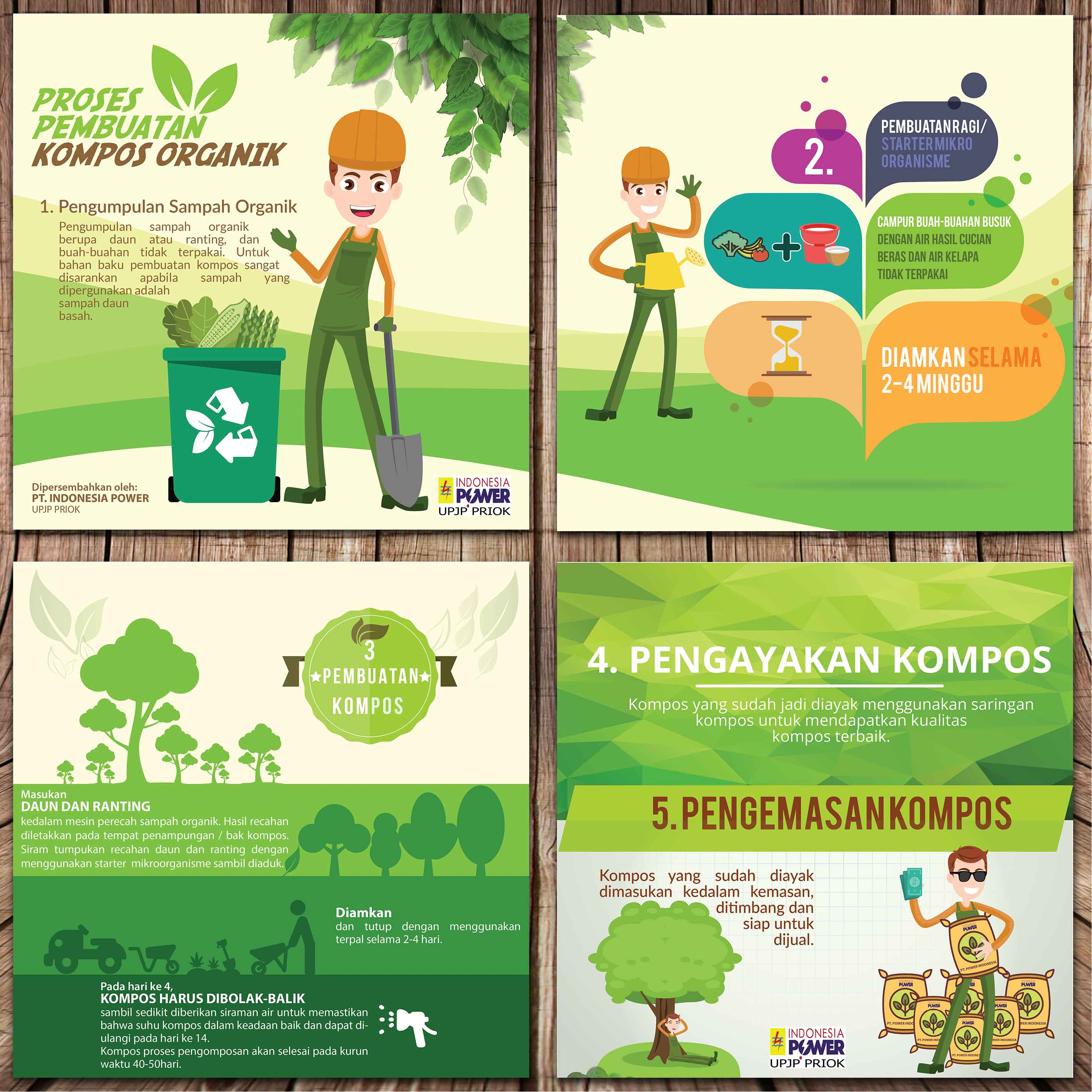 Need a Professional Poster Designer for PT Indonesia Power