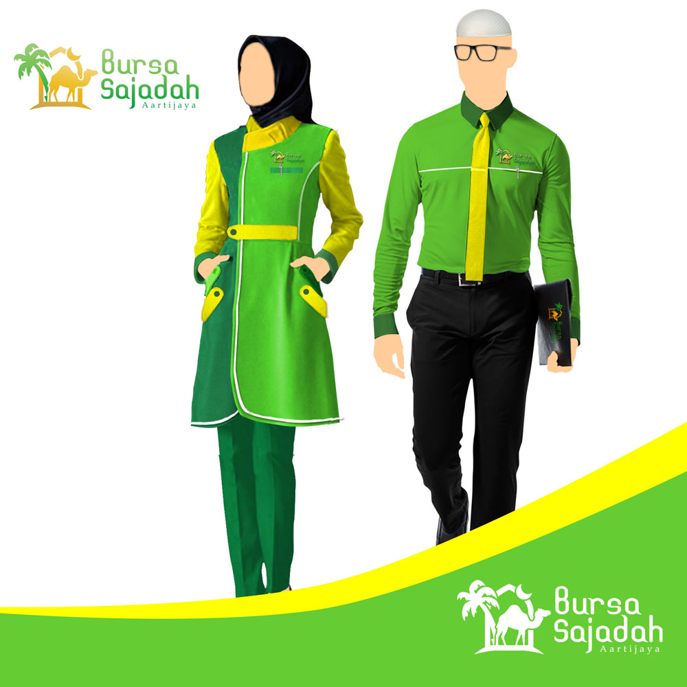 Work Uniform Design Services for Bursa Sajadah Store