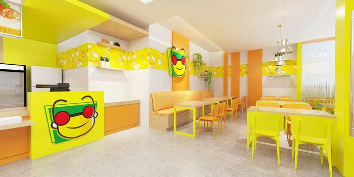 Sribu Food And Beverage Booth Design Service