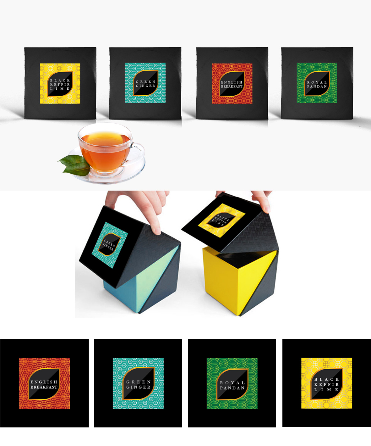 Sribu: Desain Kemasan - Desain packaging teh celup sachet (k