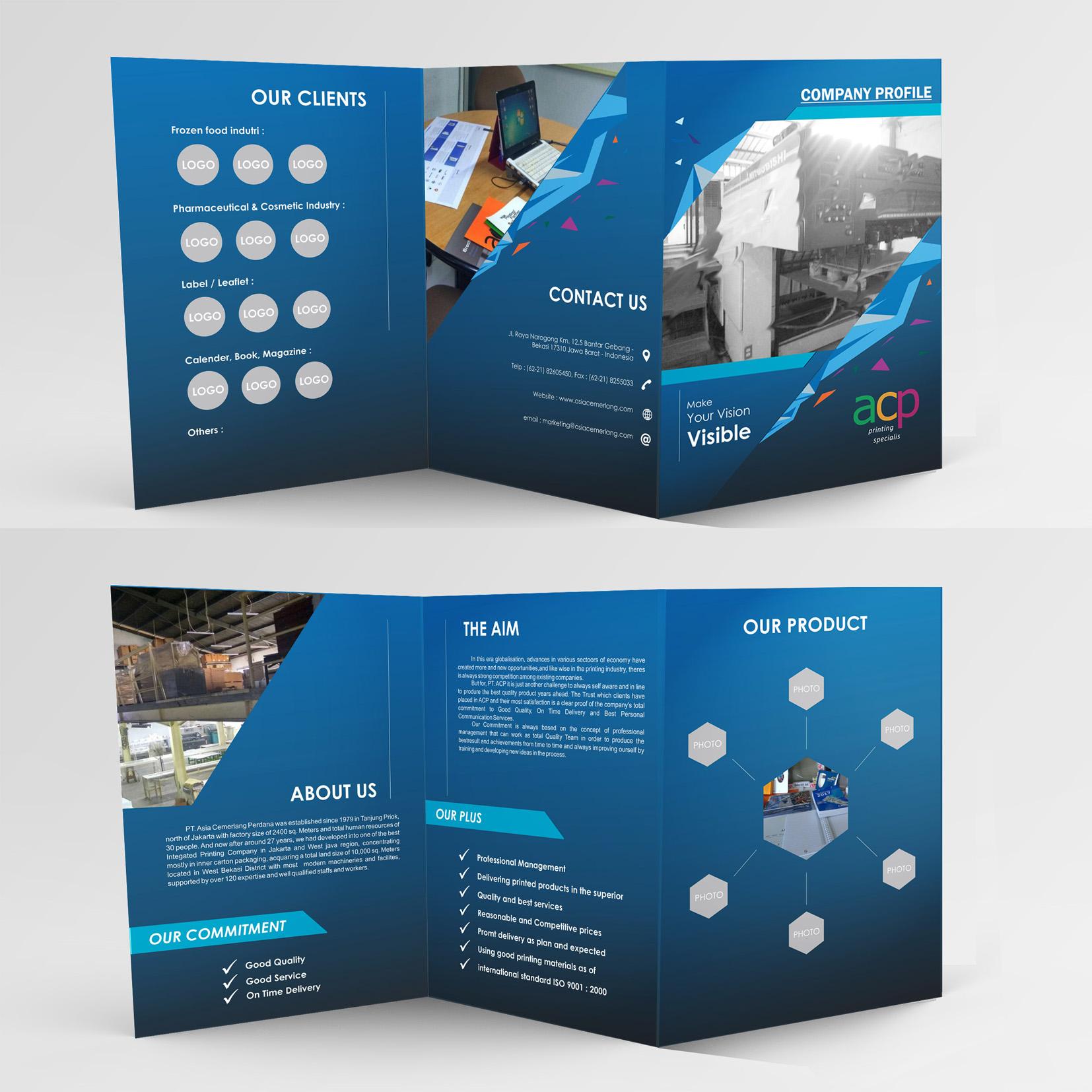 Sribu company profile design desain company profile untuk for Service design firms