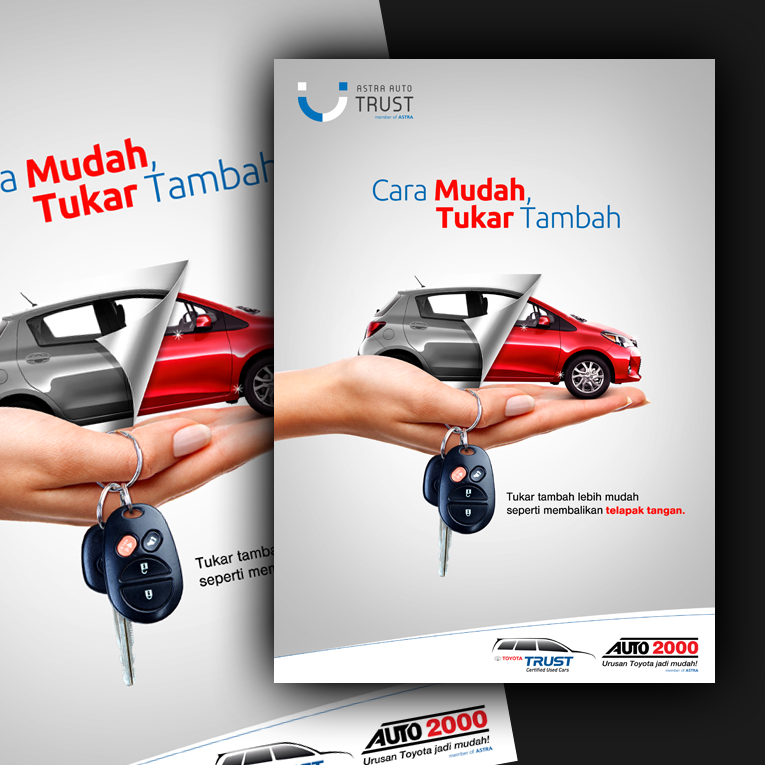 Need a Professional Poster Designer for Astra Auto Trust