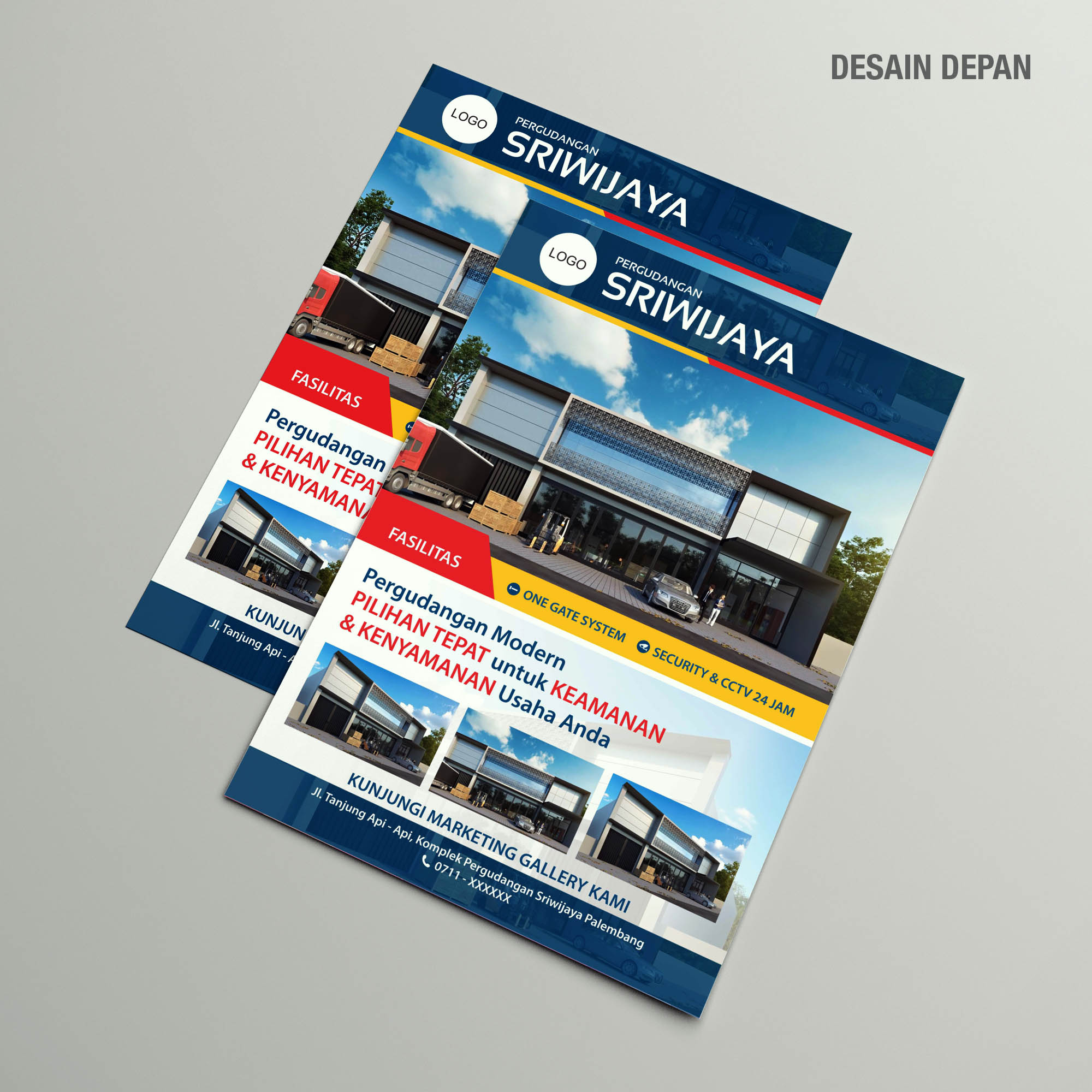 Warehouse Brochure Design Services