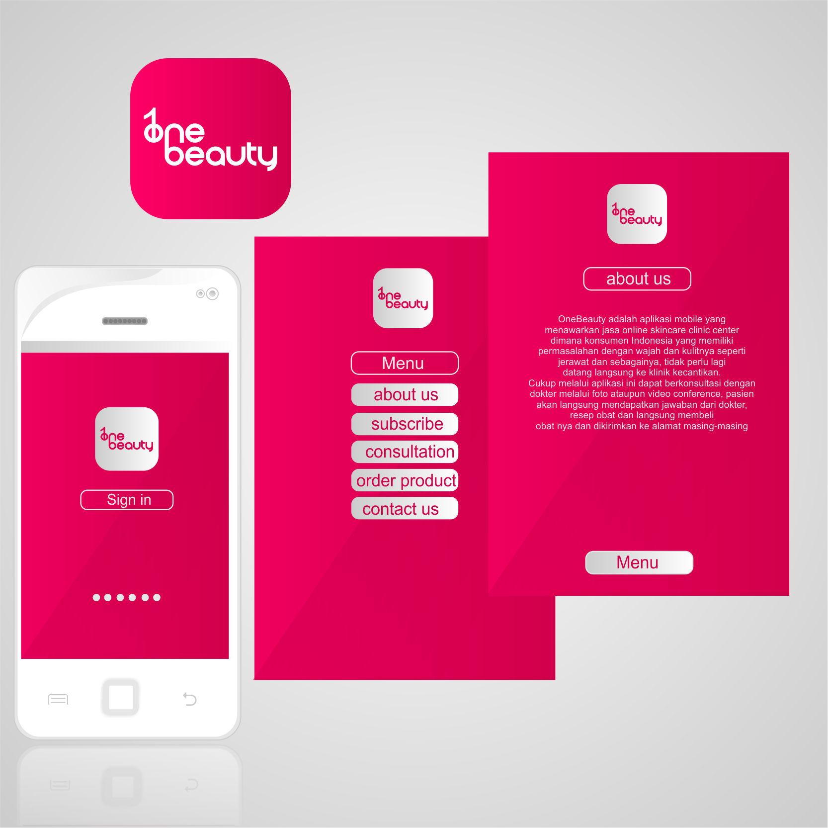Gallery Desain Aplikasi Mobile Untuk Klinik Kecantikan