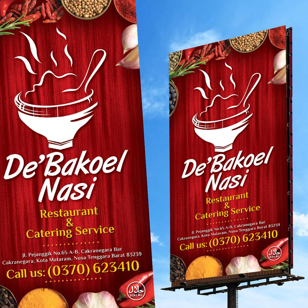 Desain Banner Warung Makanan