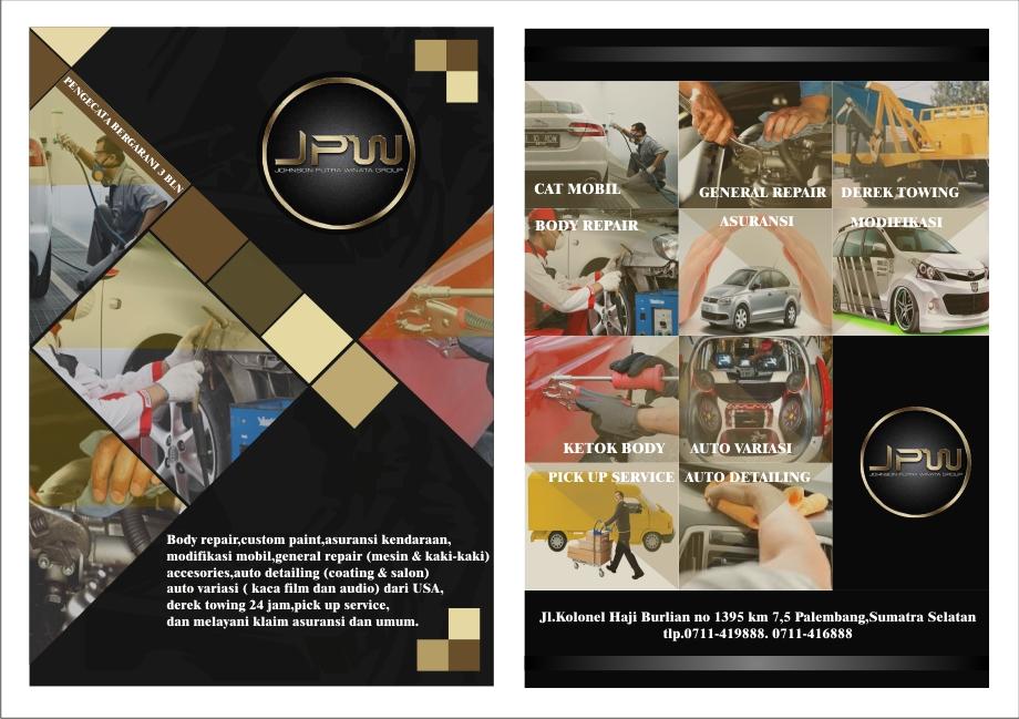 Gallery Desain Brosur Untuk Bengkel Mobil