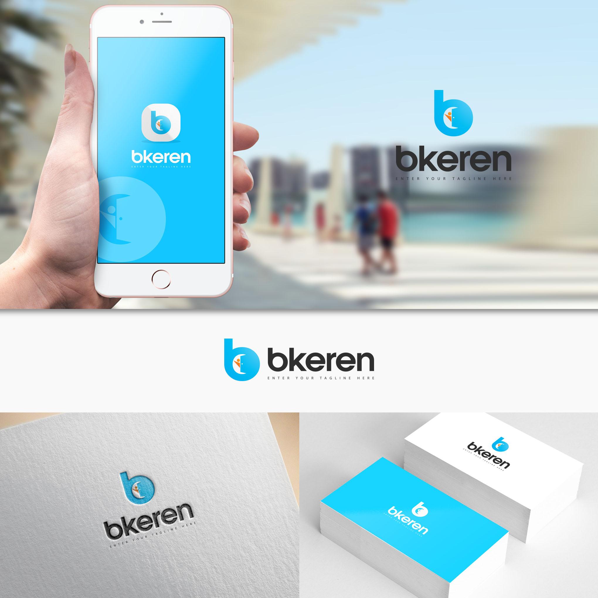 Desain Logo dan Stationery untuk Website dan Mobile Apps Platform Akomodasi Traveller