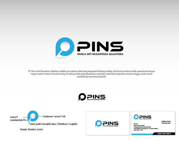 Desain Logo & Stationery Untuk Perusahaan Logistik