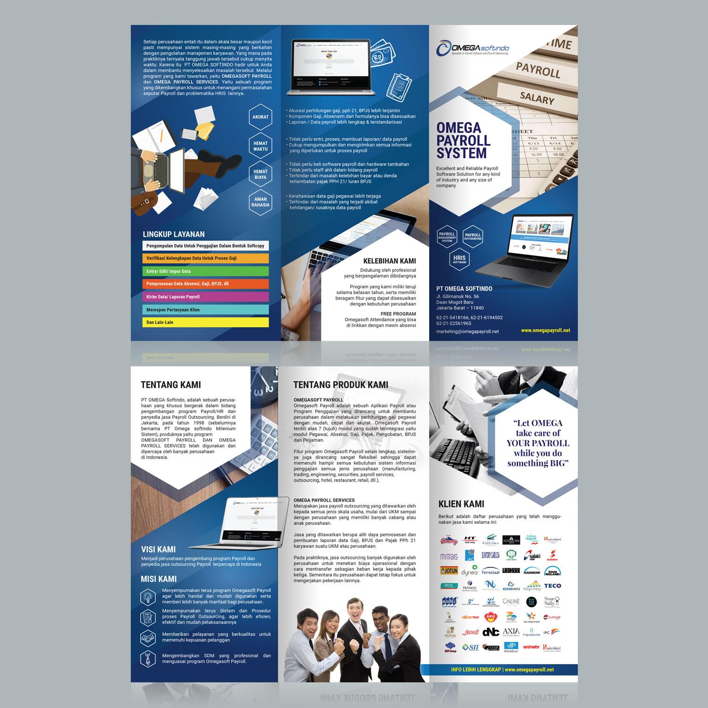 Contoh Brosur: Desain Brosur Untuk Perusahaan Jasa