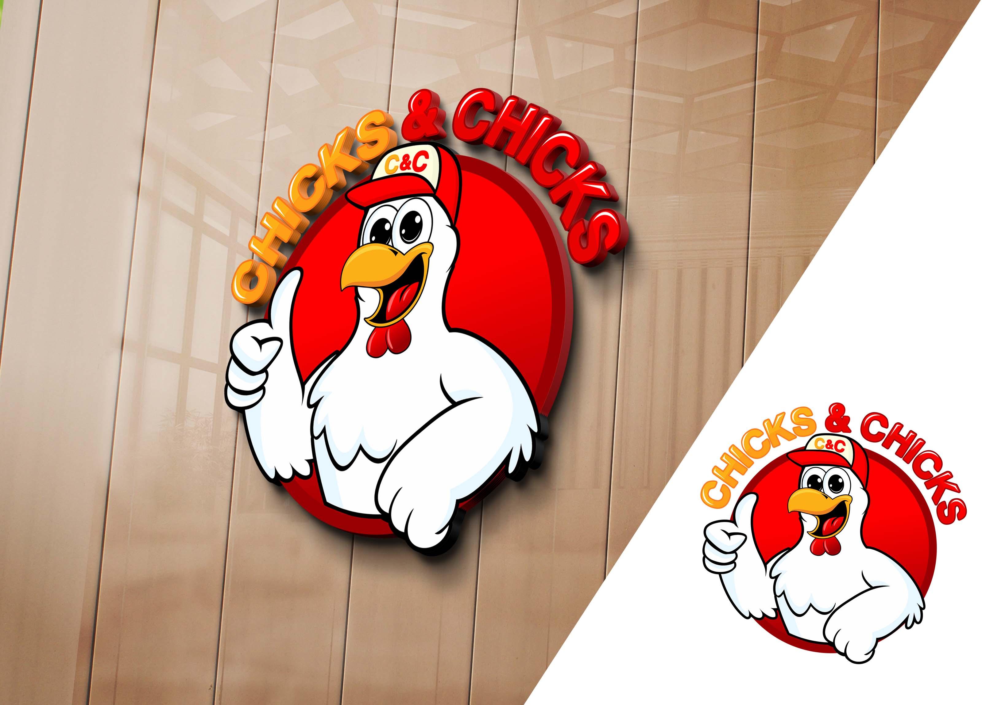 61+ Ide Desain Logo Fried Chicken HD Gratid Download Gratis