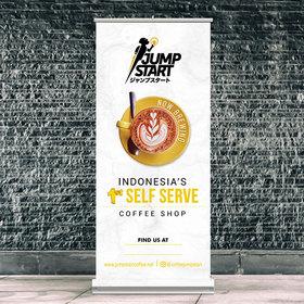 Gallery Desain Banner Untuk Coffee Shop