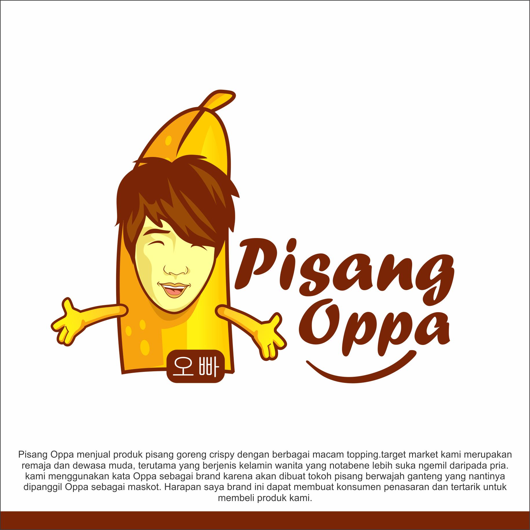 gallery desain logo untuk produk pisang