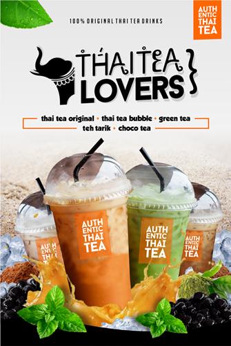 Gallery Kontes Desain Poster Untuk Minuman Thai Tea