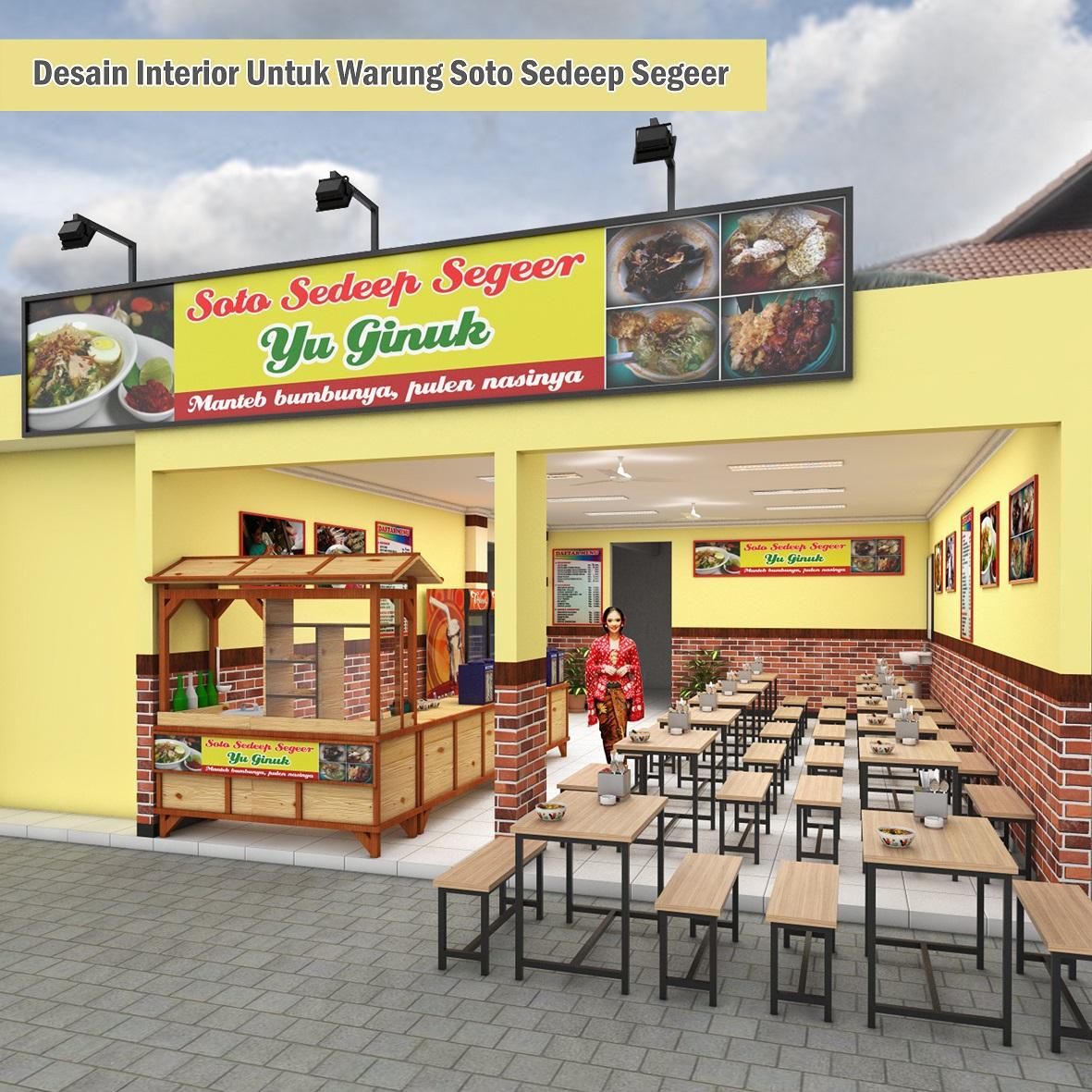 Sribu Desain Booth Desain Interior Untuk Warung Soto Sed