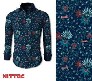 desain seragam hotel batik