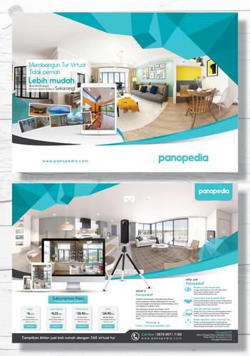 Sribu: Jasa Desain Flyer/Brosur Rumah, Gedung dan Properti B