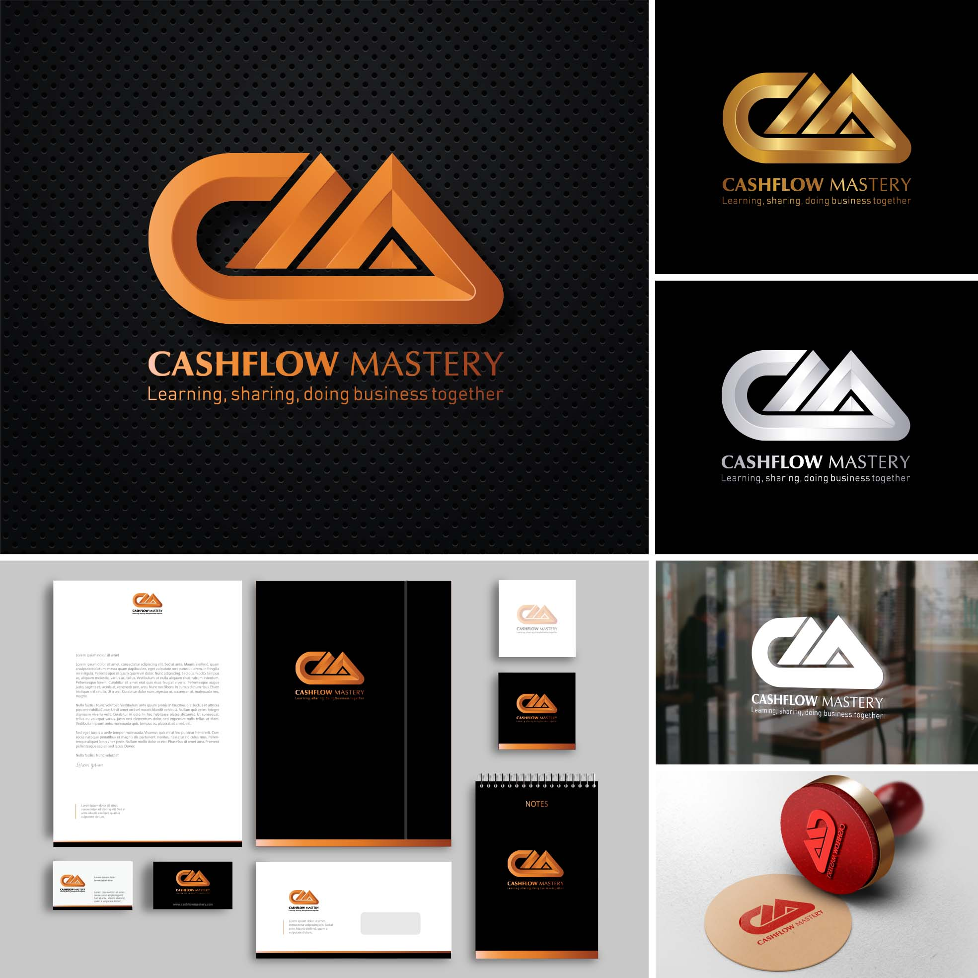 Stationery Design  GB Logo Design